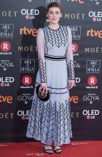 MARTA NIETO at 32nd Goya Awards in Madrid 02/03/2018