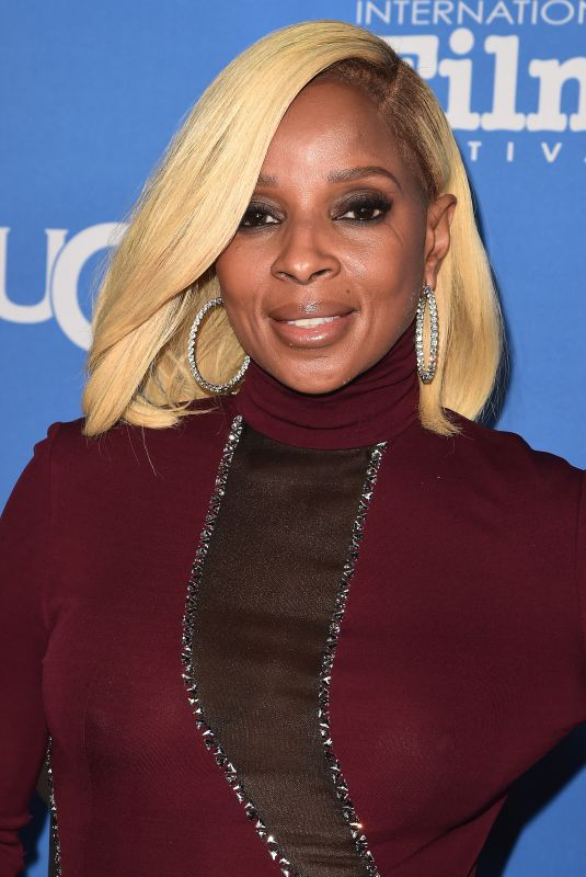 MARY J. BLIGE at 33rd Santa Barbara International Film Festival 02/03/2018