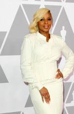 MARY J. BLIGE at 90th Annual Oscars Nominees Luncheon in Beverly Hills 02/05/2018