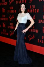 MATY-LOUISE PARKER at Red Sparrow Premiere in New York 02/26/2018
