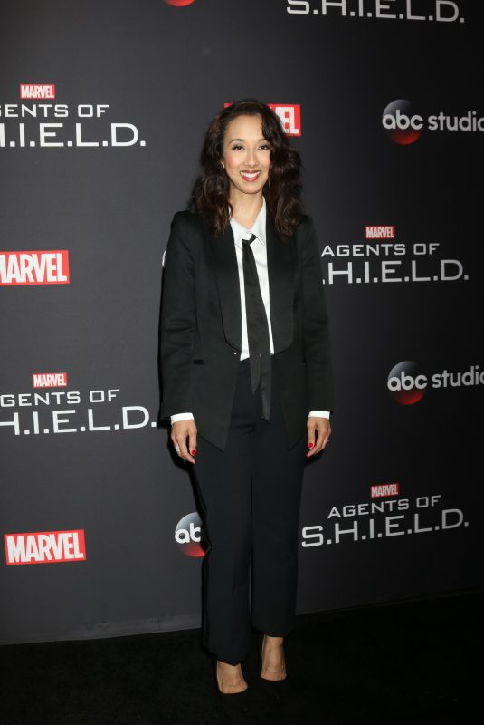MAURISSA TANCHAROEN at Agents of S.H.I.E.L.D. 100th Episode Celebration in Hollywood 02/24/2018