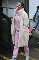 MAYA JAMA at ITV Studios in London 02/19/2018