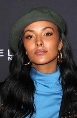 MAYA JAMA at Maybelline New York x V Magazine Fashion Week Party in New York 02/11/2018