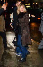 MEG RYAN Out and About in New York 02/01/2018