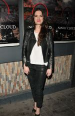 MEGAN MACZSKO at The Ninth Cloud Screening in London 02/12/2018