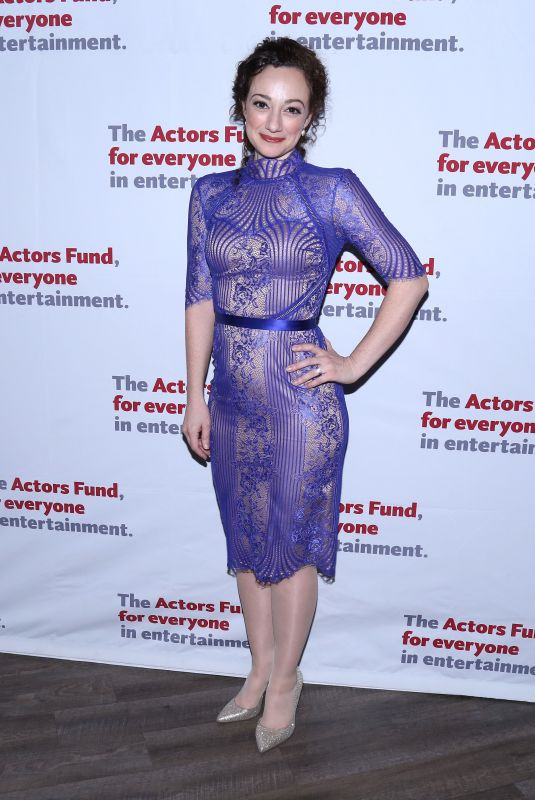 MEGAN MCGINNIS at Actors Fund