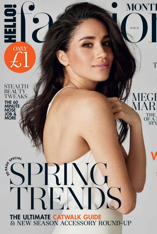 MEGHAN MARKLE in Hello! Fashion Monthly, March 2018