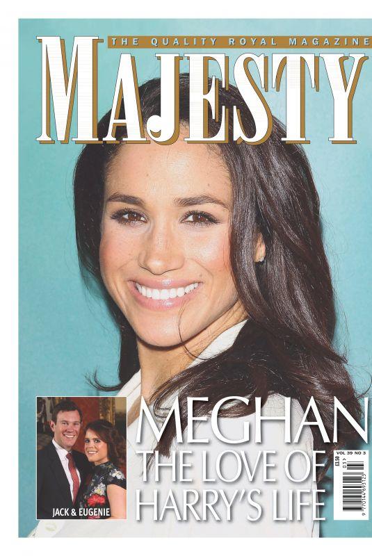 MEGHAN MARKLE in Majesty Magazine, March 2018