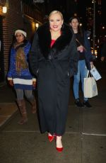 MEGHAN MCCAIN Leaves Late Show with Stephen Colbert in New York 02/01/2018