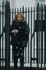 MELANIE BLATT Out and About in London 02/13/2018