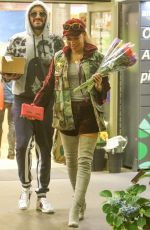 MELANIE BROWN at LAX Airpot in Los Angeles 02/03/2018
