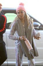 MELANIE BROWN at Los Angeles International Airport 02/01/2018