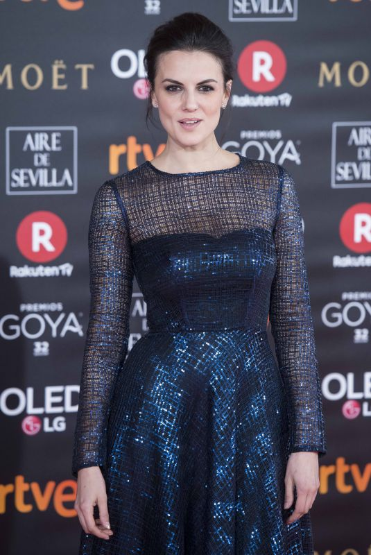 MELINA MATTHEWS at 32nd Goya Awards in Madrid 02/03/2018