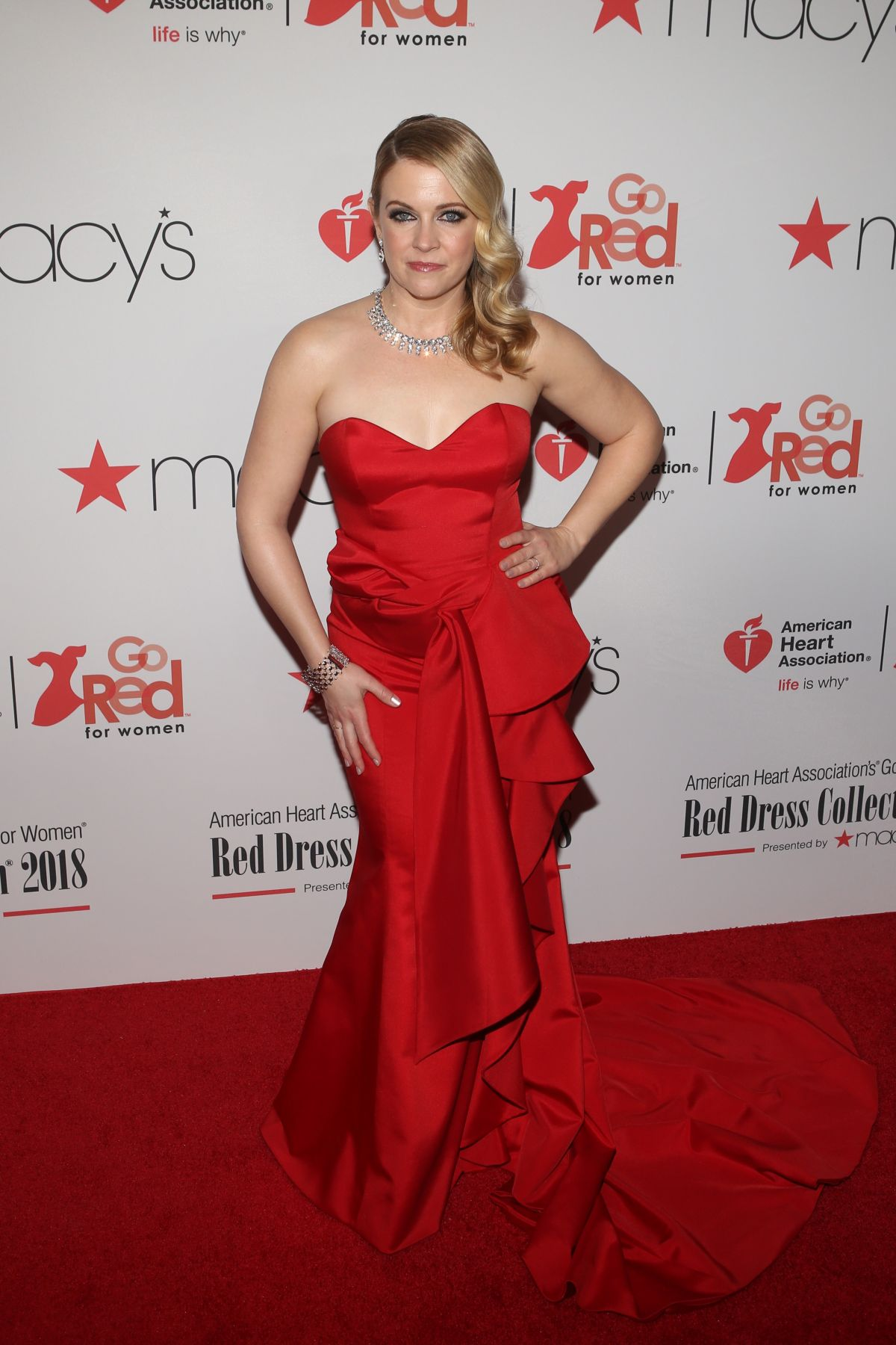 MELISSA JOAN HART at Go Red for Women Red Dress Collection