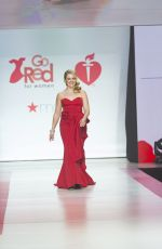 MELISSA JOAN HART in Gown by Galia Lahav at Red Dress 2018 Collection Fashion Show in New York 02/08/2018