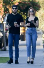 MENA SUVARI Out in West Hollywood 02/07/2018