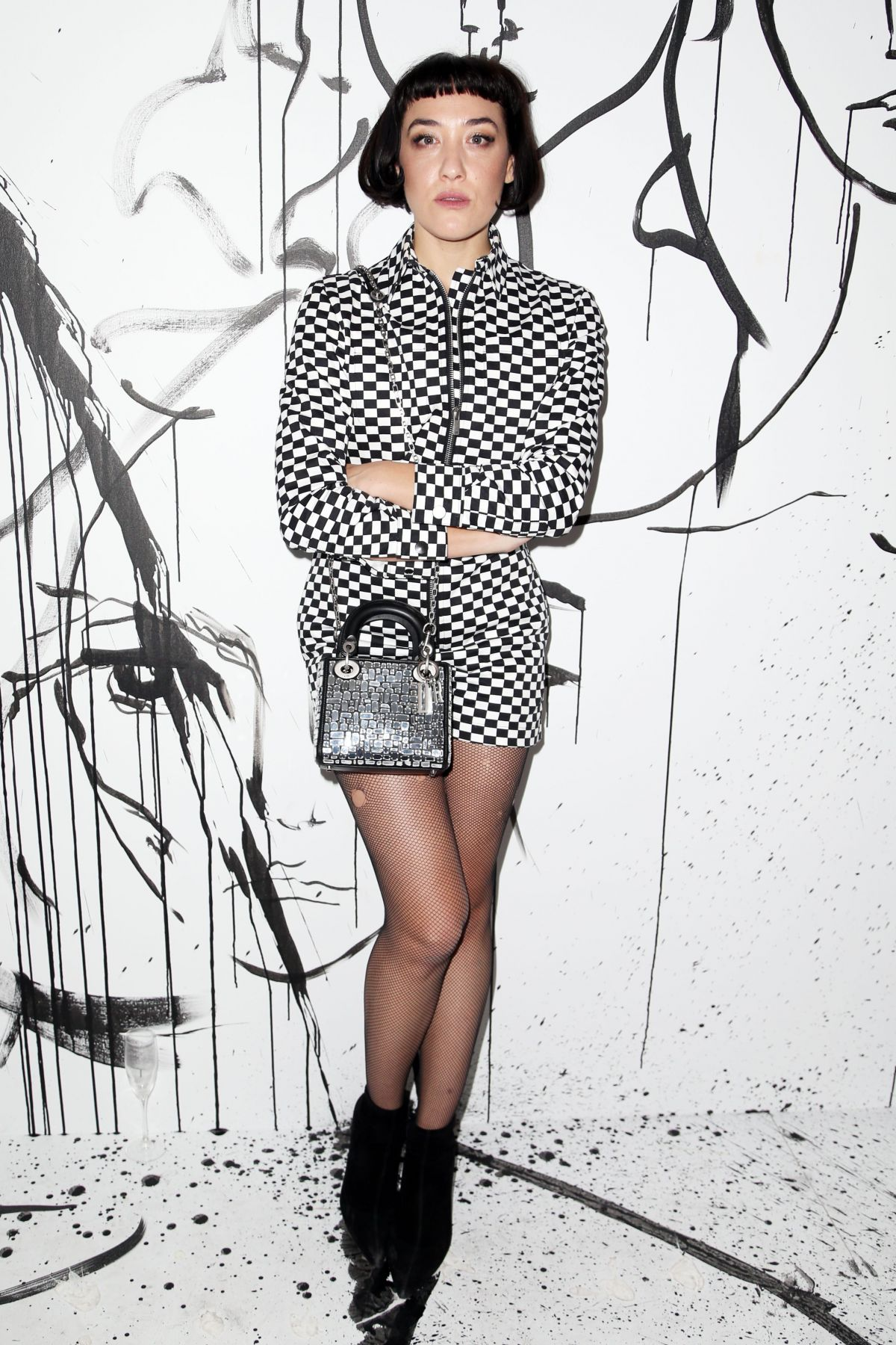 MIA MORETTI at Dior Collection Launch Party at Spring/Summer