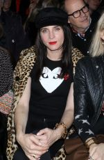 MICHELE HICKS at Anna Sui Fall/Winter 2018 Fashion Show at NYFW in New York 02/12/2018