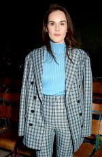 MICHELLE DOCKERY at Burberry Fashion Show at LFW in London 02/18/2018
