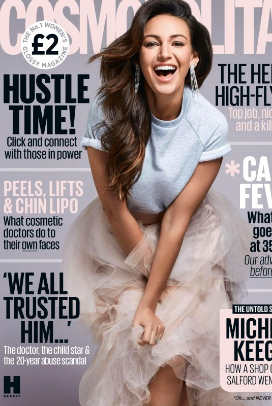 MICHELLE KEEGAN in Cosmopolitan Magazine, April 2018