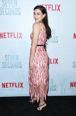 MICHELLE VEINTIMILLA at Seven Seconds Premiere in Los Angeles 02/23/2018