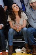 MILA KUNIS at LA Lakers Game 02/15/2018