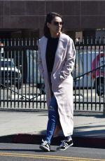 MILA KUNIS Leaves Hair Salon in Los Angeles 02/23/2018