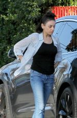 MILA KUNIS Out and About in Los Angeles 02/12/2018