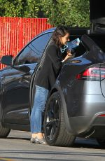 MILA KUNIS Out in Los Angeles 01/31/2018