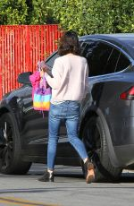 MILA KUNIS Out in Los Angeles 02/19/2018