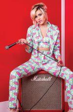 MILEY CYRUS in Fashionchick Girls Magazine, March 2018