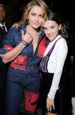 MILLIE BOBBY BROWN at Calvin Klein Fashion Show at NYFW in New York 02/13/2018