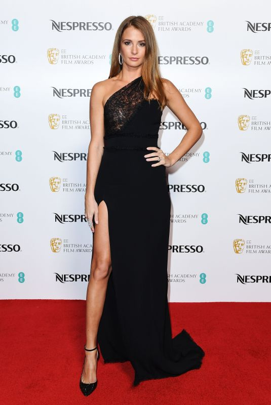 MILLIE MACKINTOSH at Bafta Nominees Party in London 02/17/2018
