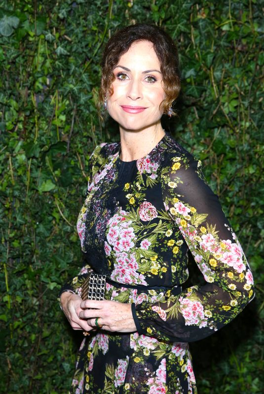 MINNIE DRIVER at Charles Finch & Chanel Pre-bafta Party in London 02/17/2018