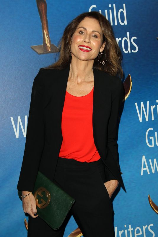 MINNIE DRIVER at Writers Guild Awards 2018 in Beverly Hills 02/11/2018