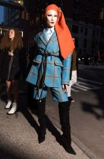 MISS FAME at Marc Jacobs Fashion Show at NYFW in New York 02/14/2018