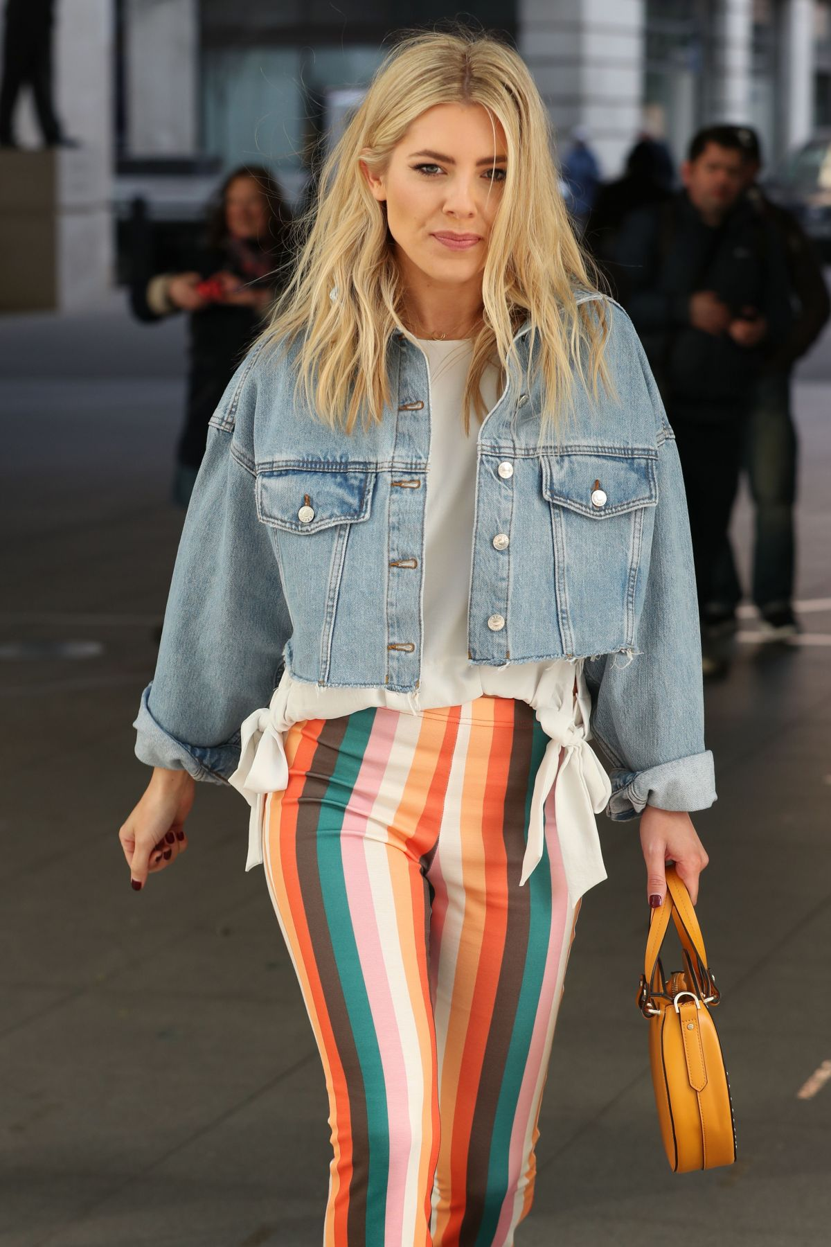 mollie king arrives at bbc radio 1 in london 02 24 2018 hawtcelebs