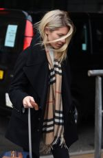 MOLLIE KING Arrives at Piccadilly Station in Manchester 02/08/2018