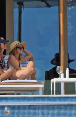 MOLLY SIMS in Swimsuit at a Pool in Cabo San Lucas 02/17/2018