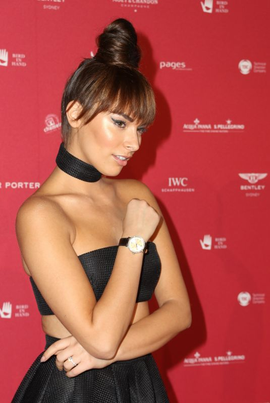 MONIKA RADULOVIC at Inaugural Museum of Applied Arts and Sciences Centre for Fashion Ball in Sydney 02/01/2018