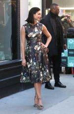 MORENA BACCARIN Arrives at AOL Build Series in New York 02/27/2017