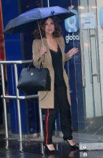 MYLEENE KLASS Arrives at Global Radio in London 02/14/2018