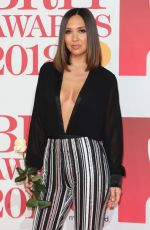 MYLEENE KLASS at Brit Awards 2018 in London 02/21/2018