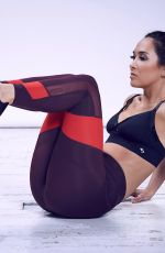MYLEENE KLASS for MyBody Workout Photoshoot, February 2018