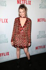 NADIA ALEXANDER at Seven Seconds Premiere in Los Angeles 02/23/2018