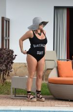 NADIA ESSEX in Swimsuit on Vacation in Cape Verde 02/09/2018