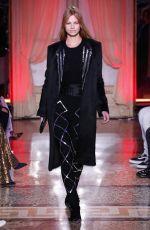 NADINE LEOPOLD at Genny Runway Show at Milan Fashion Week 02/22/2018