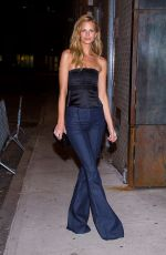 NADINE LEOPOLD Night Out in New York 02/12/2018