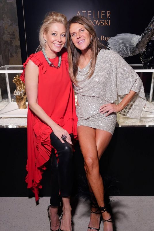 NADJA SWAROVSKI and ANNA DELLO RUSSO at ADR Beyond Fashion in Milan 02/24/2018