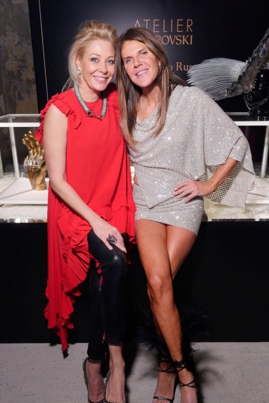NADJA SWAROVSKI and ANNA DELLO RUSSO at ADR Beyond Fashion in Milan 02/24/2018